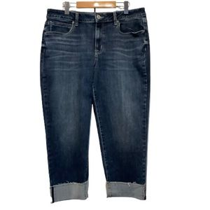 MAURICES STRAIGHT LEG CROPPED JEANS SIZE 16